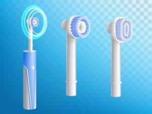 variety of electric toothbrushes