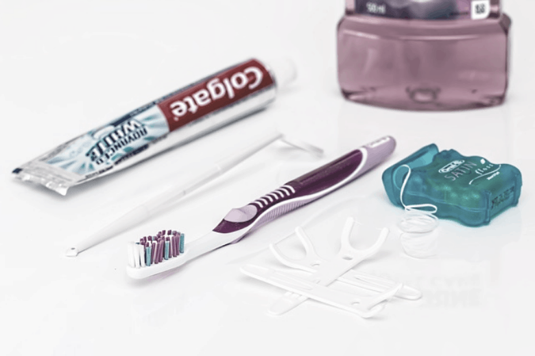 picture of dental care tools