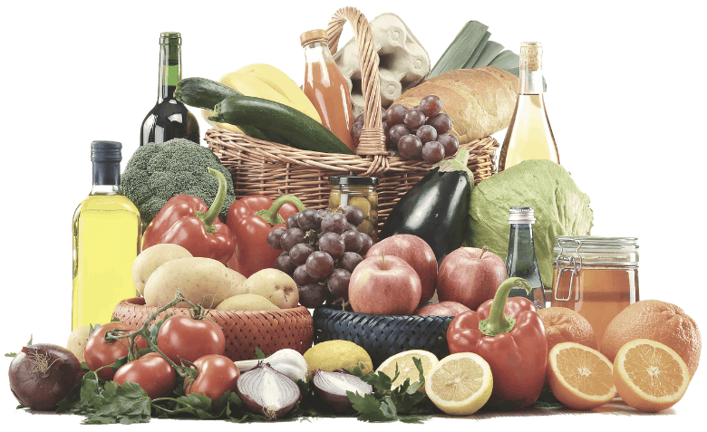 an image of some fruits and vegetables