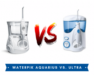 image of Waterpik Aquarius vs Ultra