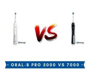 ORAL-B PRO 5000 VS pro 7000