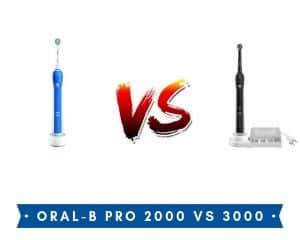 oral b pro 2000 vs 3000